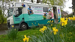 Mobile Library Van Image